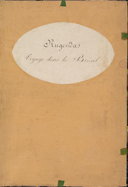 Voyage Pittoresque dans le Bresil - Front Cover (1835)