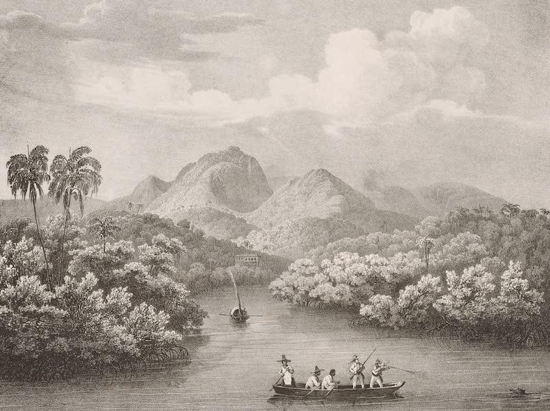 Voyage Pittoresque dans le Bresil - Rio Jnhomerim dans la Baie de Rio de Janeiro (1835)