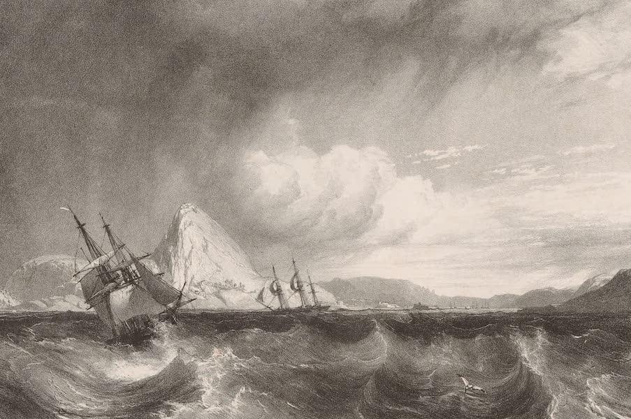 Voyage Pittoresque dans le Bresil - Entree de la Rade de Rio-Janeiro (1835)