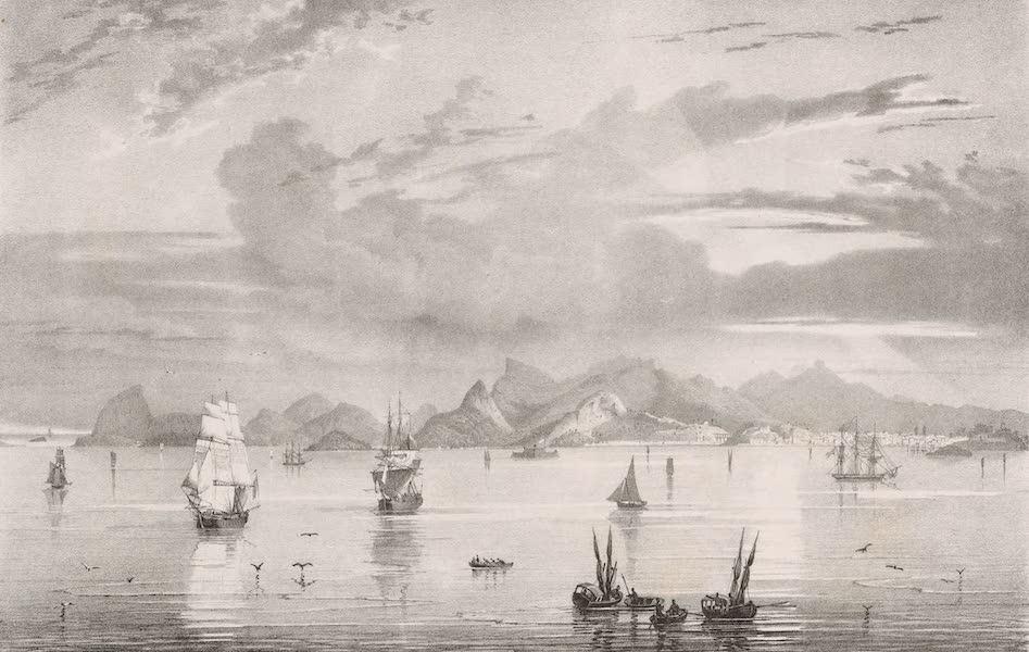 Voyage Pittoresque dans le Bresil - Vue du Rio-Janeiro prise de la Rade (1835)