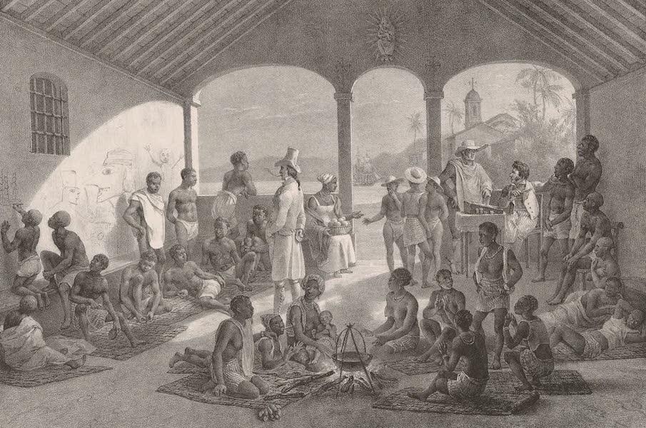 Voyage Pittoresque dans le Bresil - Marche aux Negres (1835)
