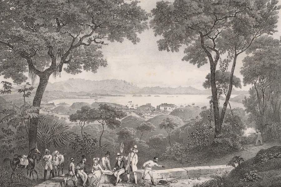 Voyage Pittoresque dans le Bresil - Vue du Rio-Janeiro prise de l'Acqueduc (1835)