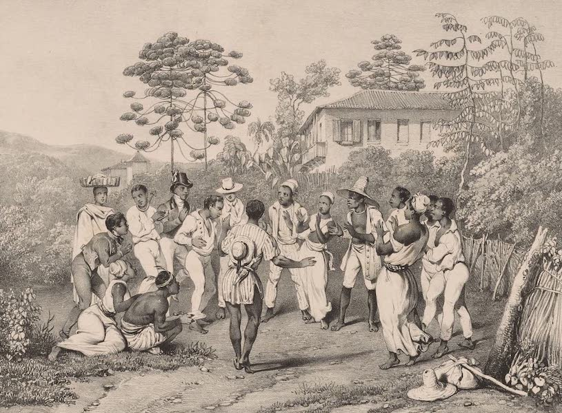 Voyage Pittoresque dans le Bresil - Danse Batuca (1835)