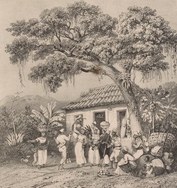 Voyage Pittoresque dans le Bresil - Danse Landu (1835)