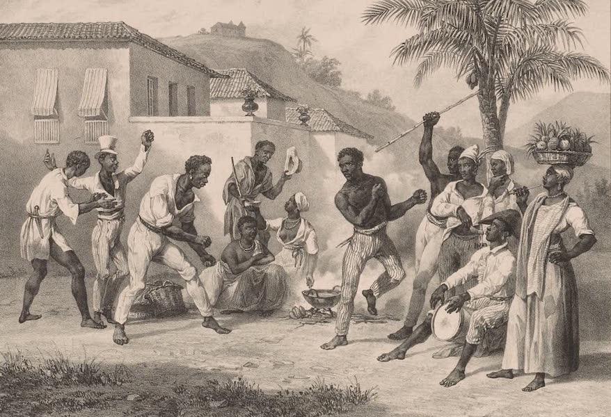 Voyage Pittoresque dans le Bresil - Jogar Capoera ou danse de la guerre (1835)
