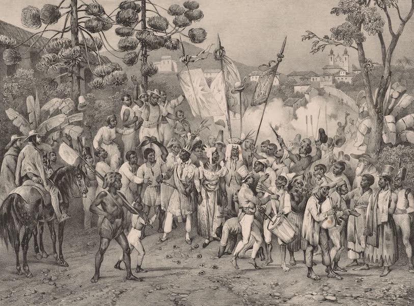Voyage Pittoresque dans le Bresil - Fete de Ste. Rosalie, Patrone des Negres (1835)
