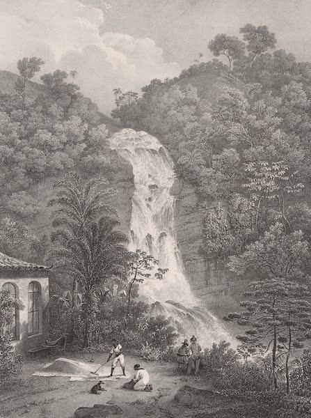 Voyage Pittoresque dans le Bresil - Cascade de Tijucca (1835)