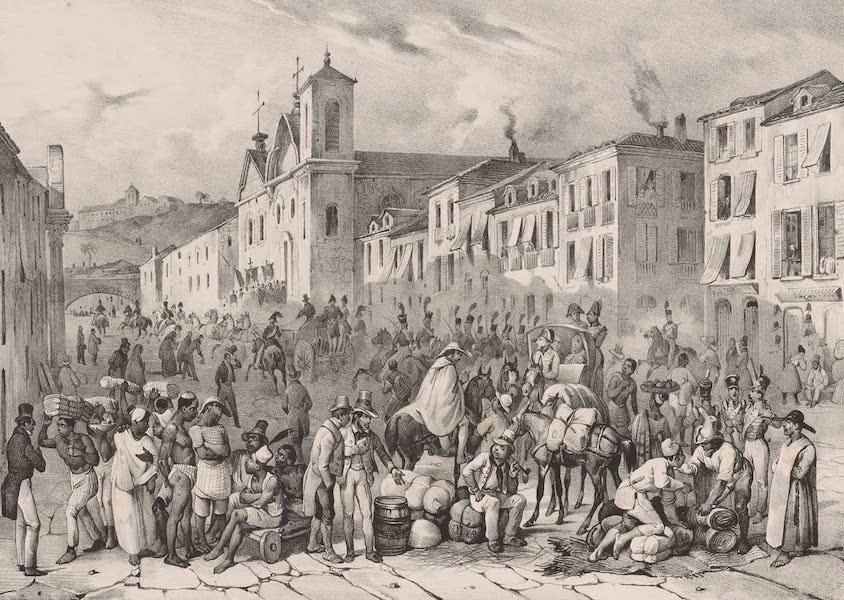 Voyage Pittoresque dans le Bresil - Rue Droite a Rio Janeiro (1835)