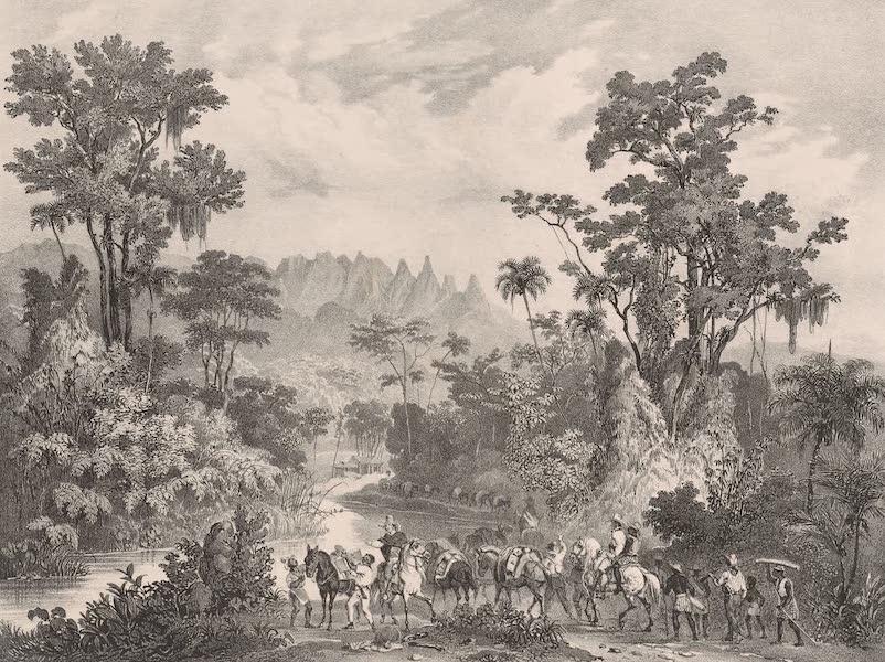 Voyage Pittoresque dans le Bresil - Serra das Orguas (1835)
