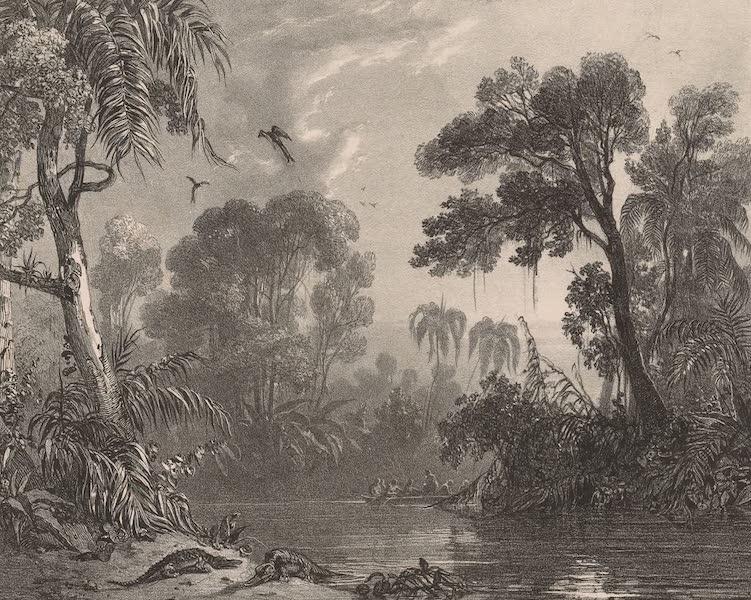 Voyage Pittoresque dans le Bresil - Embouchure de la Riviere Caxoera (1835)