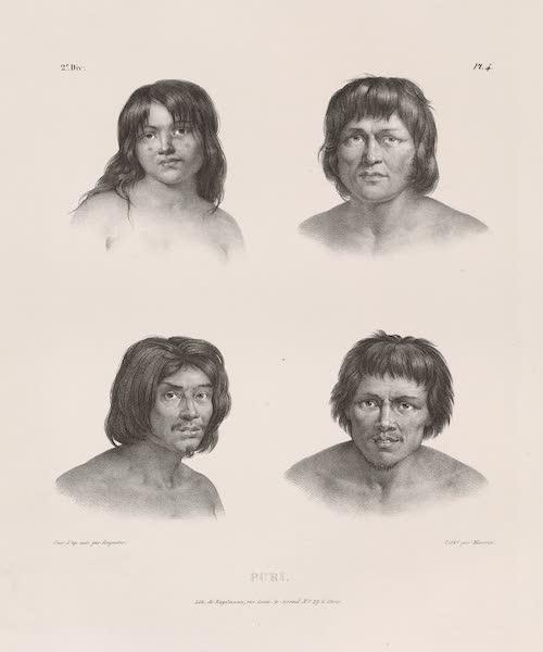 Voyage Pittoresque dans le Bresil - Puri. (1835)