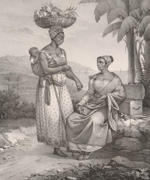 Voyage Pittoresque dans le Bresil - Negresses de Rio-Janeiro (1835)