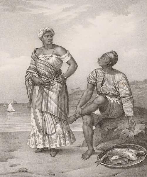 Voyage Pittoresque dans le Bresil - Negre & Negresse de Bahia (1835)