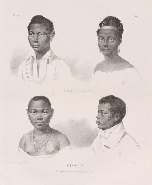 Voyage Pittoresque dans le Bresil - Benguela. Congo. (1835)