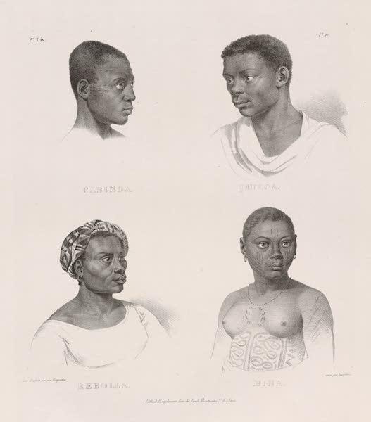 Voyage Pittoresque dans le Bresil - Cabinda. Quiloa. Rebolla. Mina. (1835)
