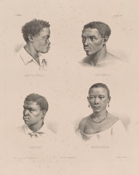 Voyage Pittoresque dans le Bresil - Benguela. Angola. Congo. Monjolo. (1835)