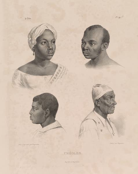 Voyage Pittoresque dans le Bresil - Creoles. (1835)