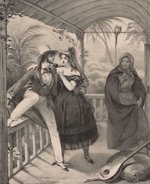 Voyage Pittoresque dans le Bresil - Costumes de Rio Janeiro (1835)