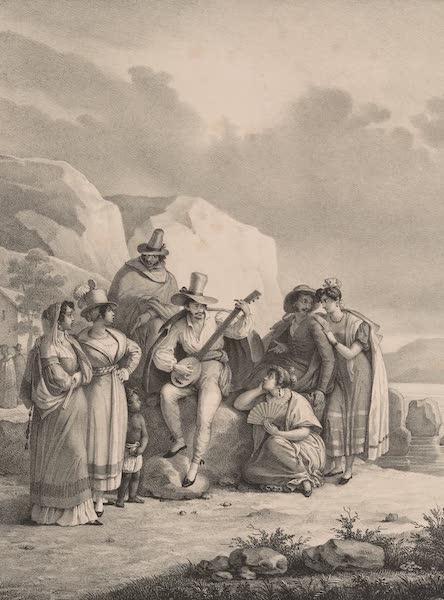 Voyage Pittoresque dans le Bresil - Costumes de San Paulo (1835)
