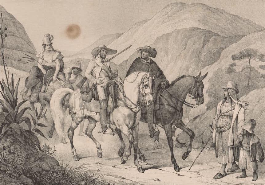 Voyage Pittoresque dans le Bresil - Habitans de Minas (1835)