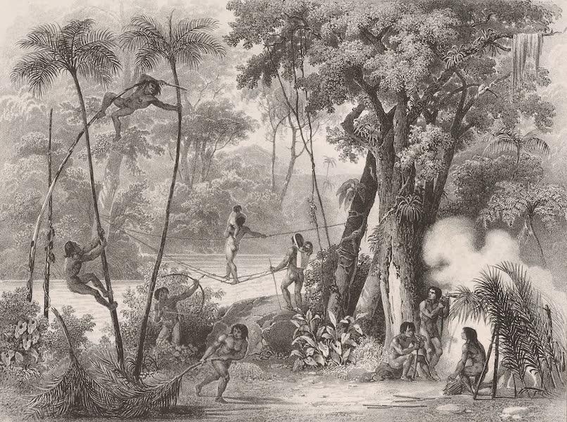 Voyage Pittoresque dans le Bresil - Pont de Lianne (1835)