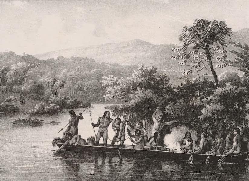 Voyage Pittoresque dans le Bresil - Canot Indien (1835)