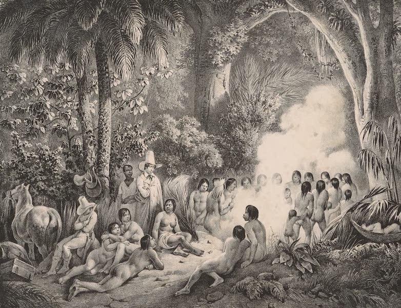 Voyage Pittoresque dans le Bresil - Danse des Purys (1835)