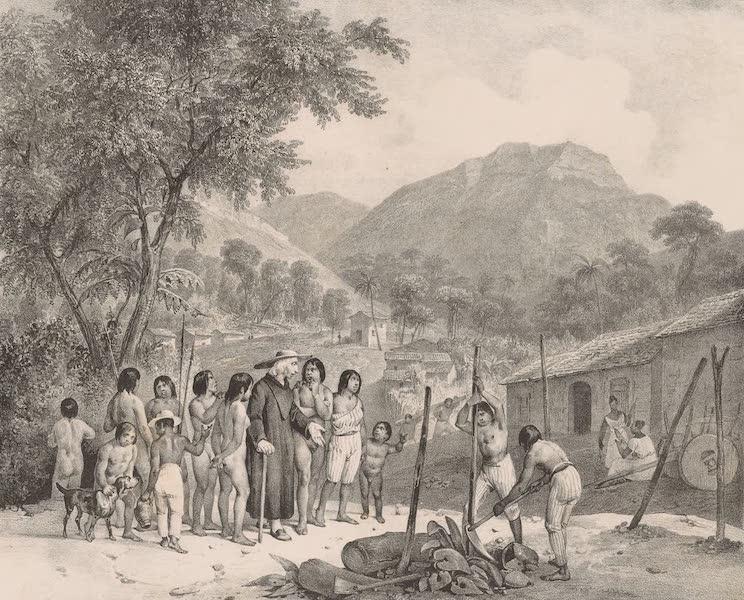 Voyage Pittoresque dans le Bresil - Aldea des Tapuyos (1835)