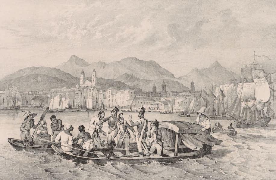 Voyage Pittoresque dans le Bresil - Braia dos Mineros a Rio-Janeiro (1835)