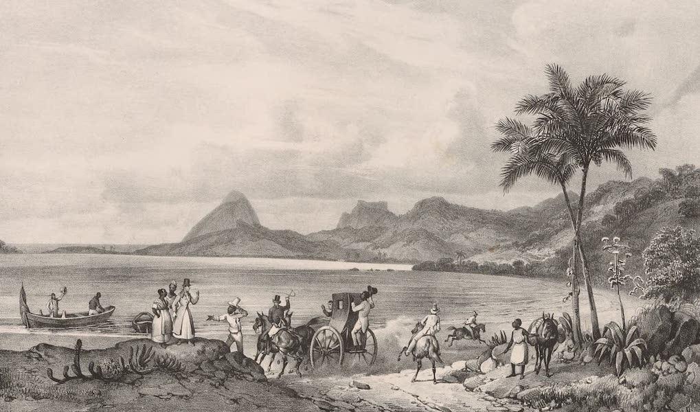 Voyage Pittoresque dans le Bresil - Lagoa das Tretas (1835)