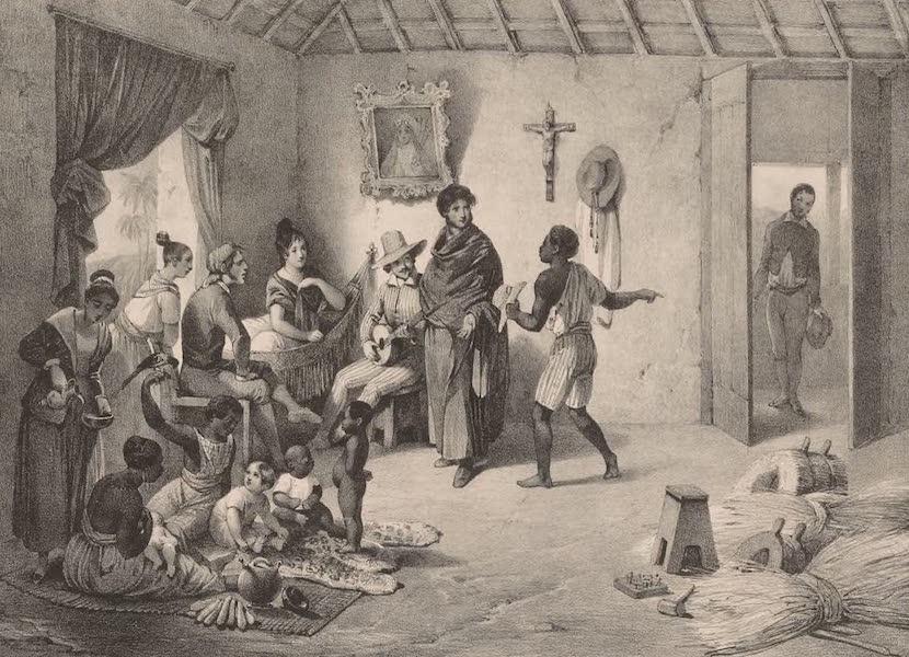 Voyage Pittoresque dans le Bresil - Famille de Planteurs (1835)