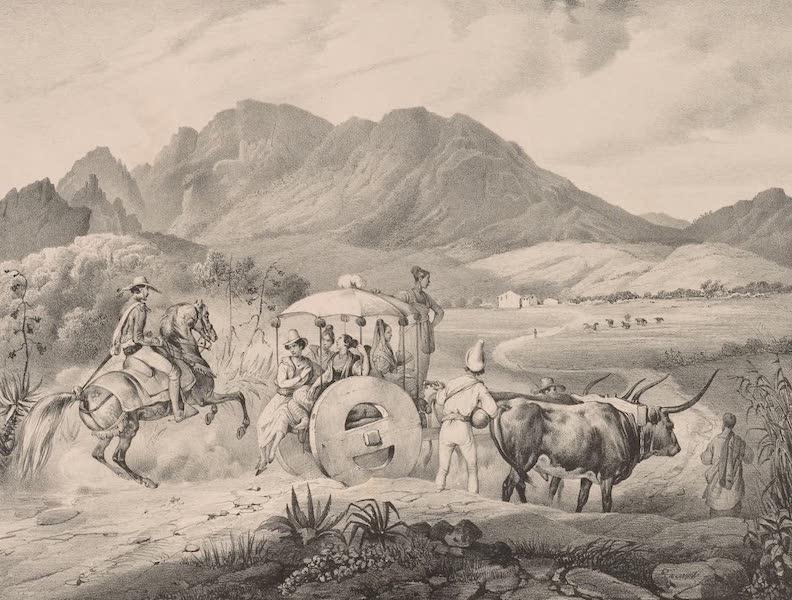 Voyage Pittoresque dans le Bresil - Famille de Planteurs Allant a l'Eglise (1835)