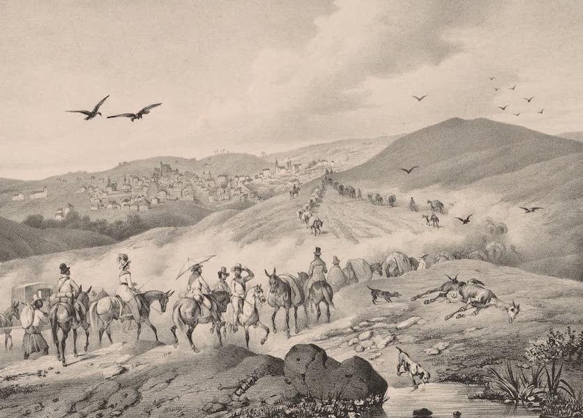 Voyage Pittoresque dans le Bresil - Caravanne de Marchands Allant a Tijucca (1835)