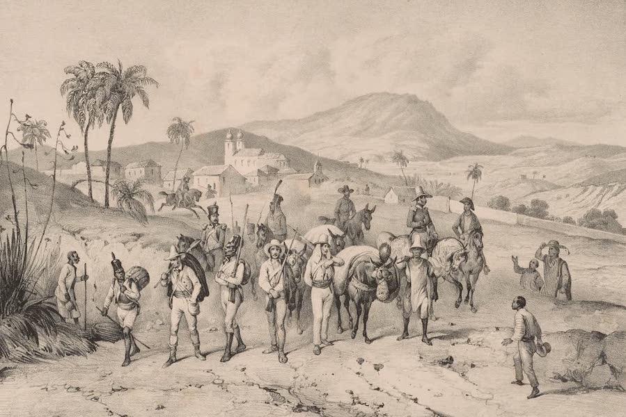 Voyage Pittoresque dans le Bresil - Convoi de Diamans Passant par Caiete (1835)