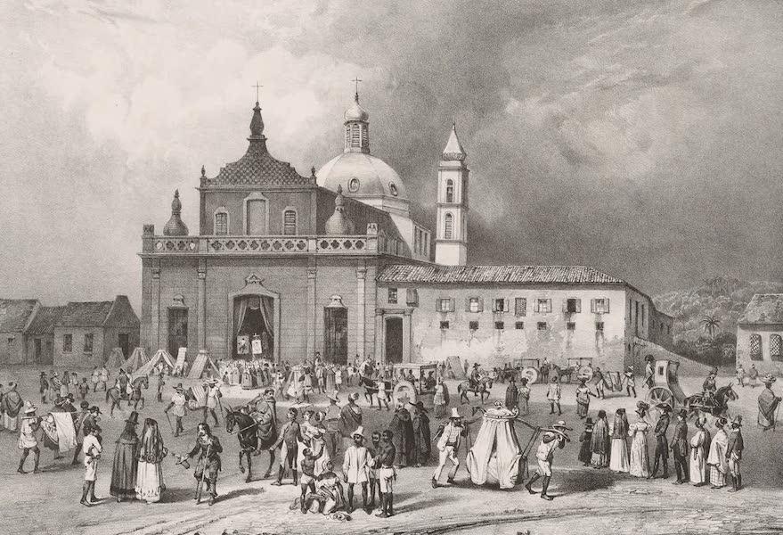 Voyage Pittoresque dans le Bresil - Hospice de N.S. da Piudade a Bahia (1835)