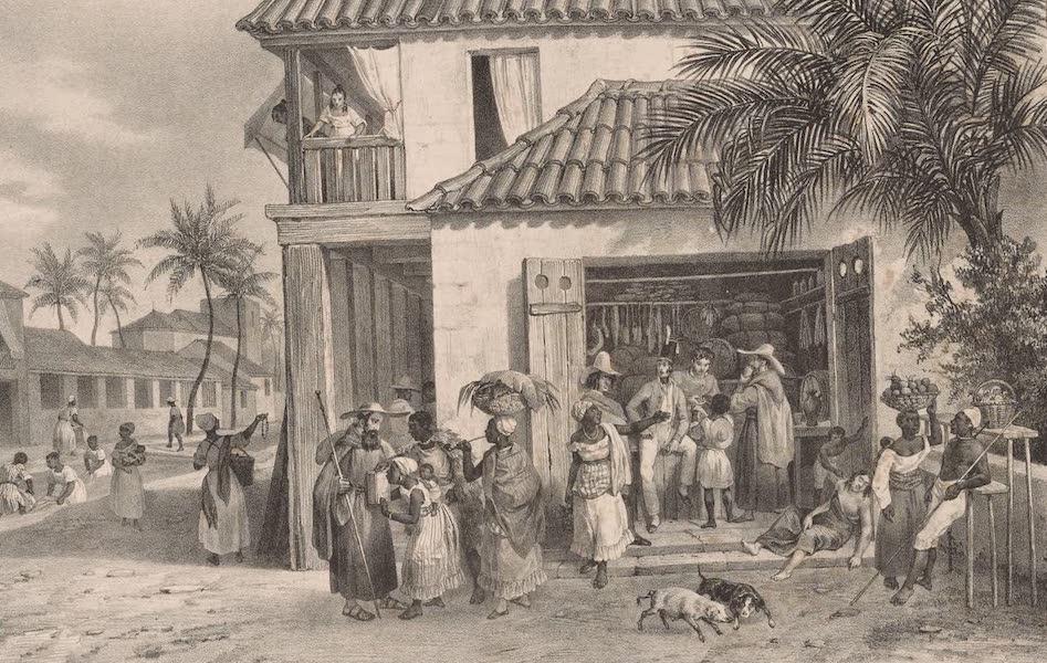 Voyage Pittoresque dans le Bresil - Venta a Reziffe (1835)