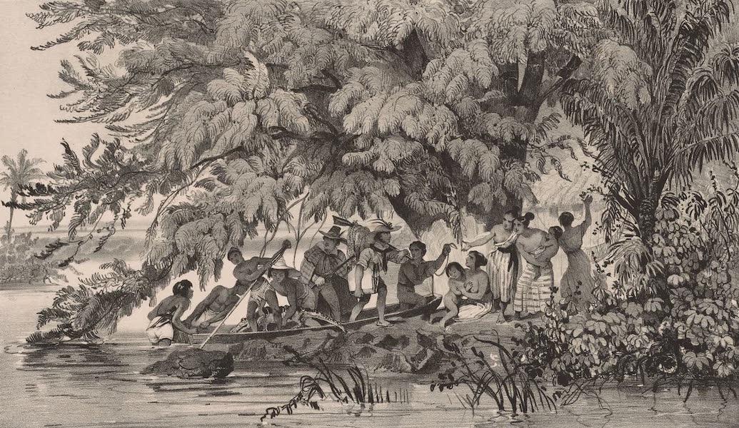 Voyage Pittoresque dans le Bresil - Habitans Pecheurs. Cote des Ilheos. (1835)