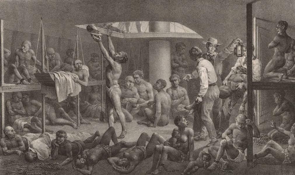 Voyage Pittoresque dans le Bresil - Negres a Fond de Calle (1835)