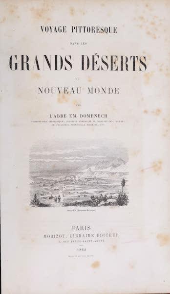 Voyage Pittoresque dans les Grands Deserts du Nouveau Monde - Title Page (1862)