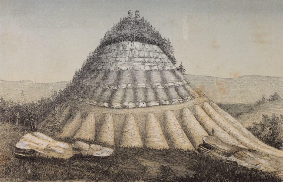 Voyage Pittoresque dans les Grands Deserts du Nouveau Monde - Montagne Pyramide (1862)