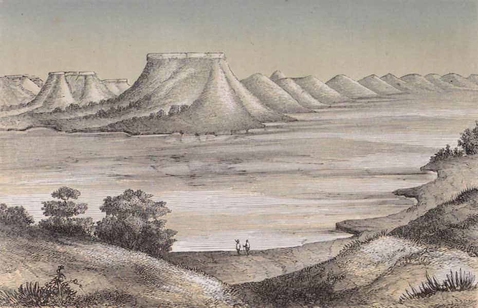 Voyage Pittoresque dans les Grands Deserts du Nouveau Monde - Collines de Sable sur la Canadienne (1862)
