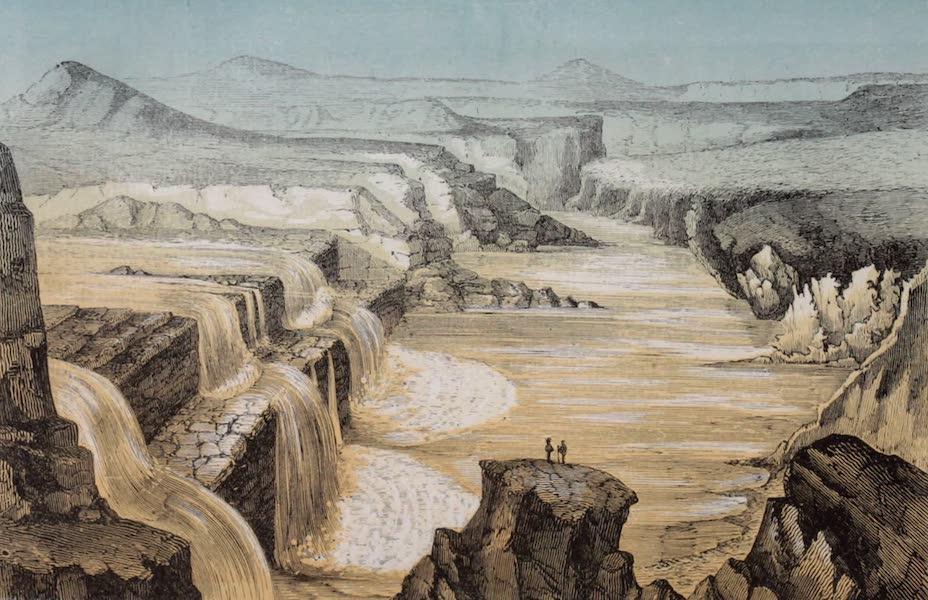 Voyage Pittoresque dans les Grands Deserts du Nouveau Monde - Chutes du Petit Colorado (1862)
