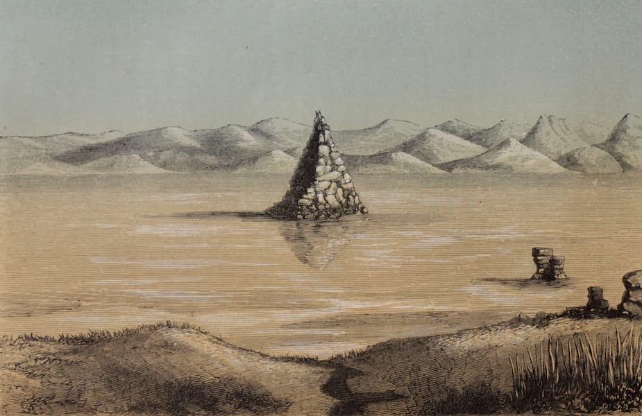 Voyage Pittoresque dans les Grands Deserts du Nouveau Monde - Lac de la Pyramide (1862)