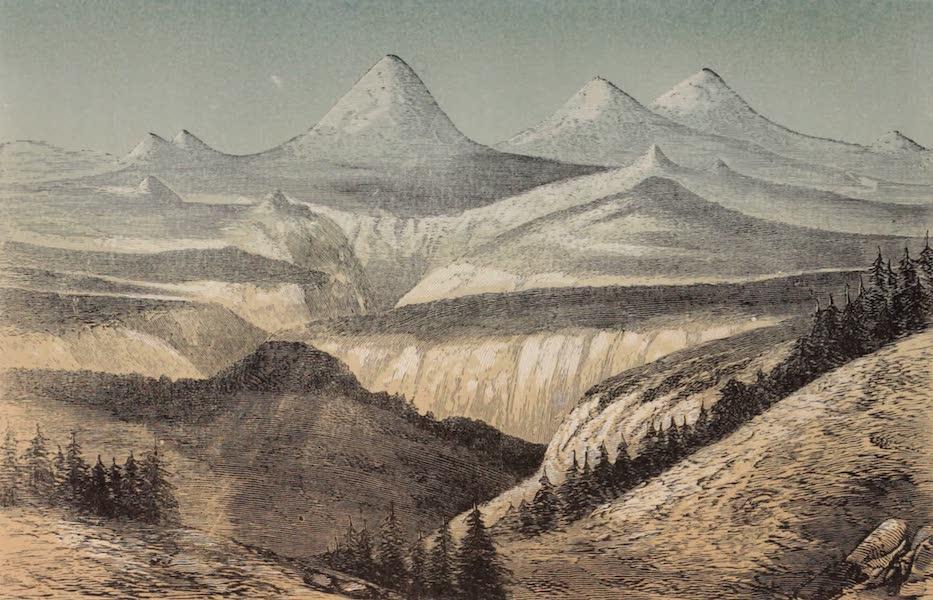 Voyage Pittoresque dans les Grands Deserts du Nouveau Monde - Vue de la Vallee Walahmette (1862)
