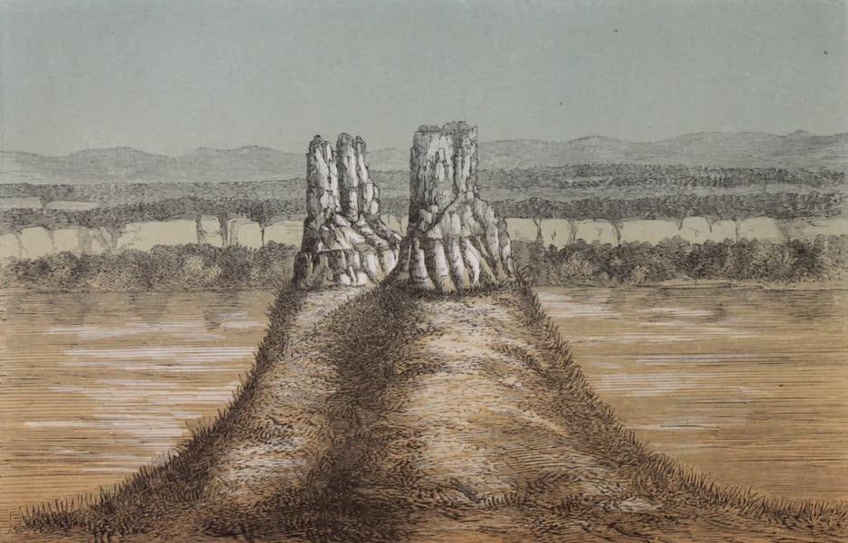 Voyage Pittoresque dans les Grands Deserts du Nouveau Monde - Tours Basaltiques (1862)
