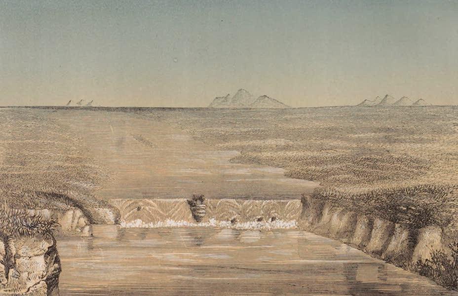 Voyage Pittoresque dans les Grands Deserts du Nouveau Monde - Chutes du Columbia (1862)