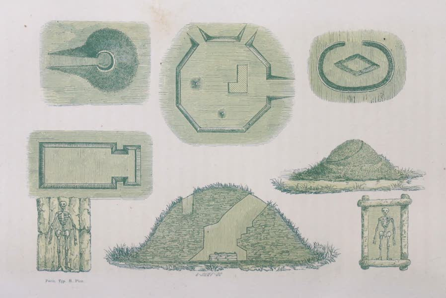 Voyage Pittoresque dans les Grands Deserts du Nouveau Monde - Collines Artificielles (1862)