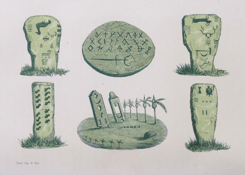 Voyage Pittoresque dans les Grands Deserts du Nouveau Monde - Inscriptions Indiennes (1862)