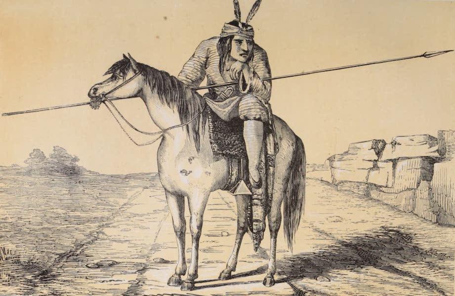 Voyage Pittoresque dans les Grands Deserts du Nouveau Monde - Comanche (1862)