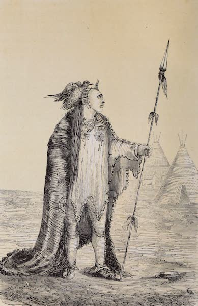 Voyage Pittoresque dans les Grands Deserts du Nouveau Monde - Chef Corbeau (1862)